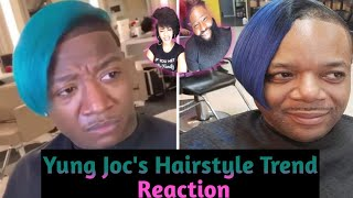 Yung Joc's Hairstyle Trend Reaction