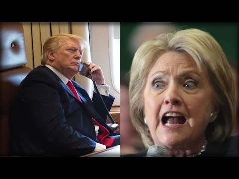 HILLARY CLINTON JUST LET SLIP A BIG SECRET ABOUT TRUMP ELECTION NIGHT CALL
