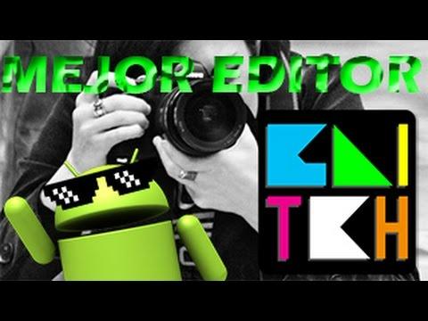 El mejor editor de fotos android efectos glitch for Editor de fotos efectos