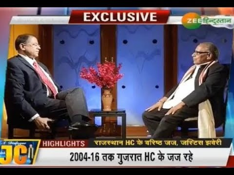 A Dialogue With JC: Exclusive Interview of Justice Kalpesh Satyendra Jhaveri