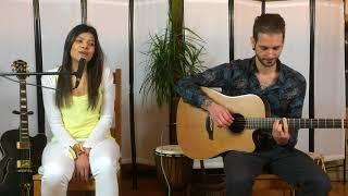 Madhuleena & Filippo - Acoustic cover of Darasal from movie Raabta