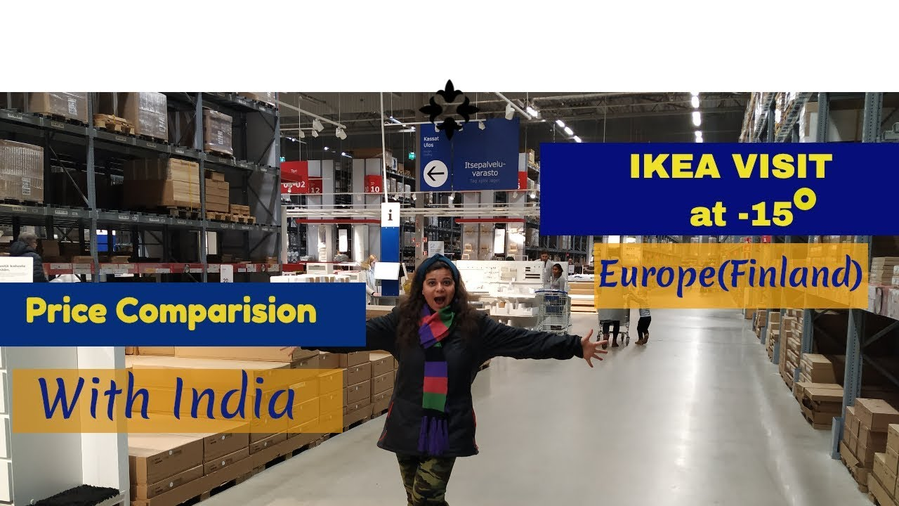 How Is Ikea In Finland Europe At