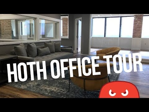 WE MOVED TO THE PENTHOUSE?? The HOTH Office Tour