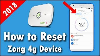 How To Reset Zong 4g Devices Urdu