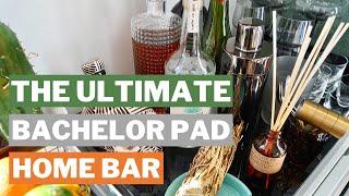 THE ULTIMATE HOME BAR - Brooklyn Bachelor Pad