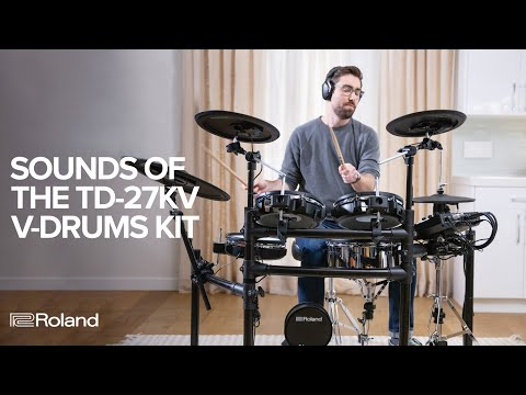 Sounds of Roland V-Drums TD-27KV Electronic Drum Kit