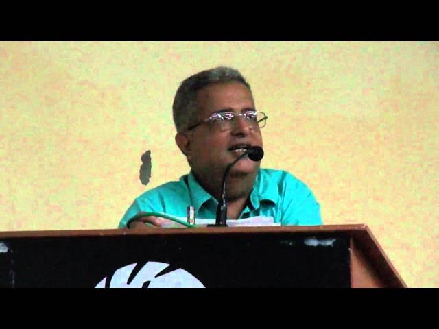 7.83 ஹெர்ட்ஸ் பி.ஏ.கிருஷ்ணன் உரை. P A Krishnan speech
