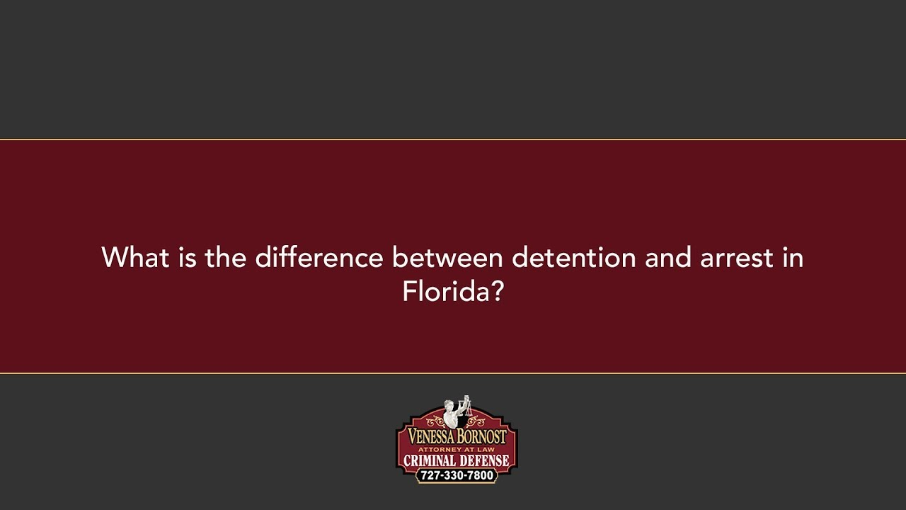 What is the difference between arrest and imprisonment