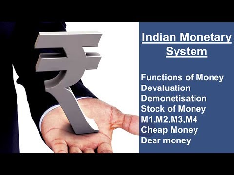 Indian Monetary System in hindi | Monetary System in hindi | Economy Lecture PT-04