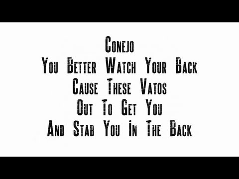 Conejo Conejo Watch Your Back With Lyrics On Screen Youtube