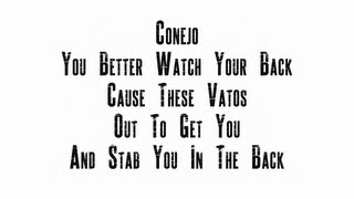 Conejo - Conejo (Watch Your Back) (With Lyrics On Screen)