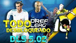 Dream league soccer 2018 hack apk mod todos los jugadores desbloqueados thumbnail