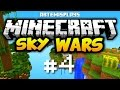 I WON THE FIRST GAME?! | Minecraft Skywars Ep. 4