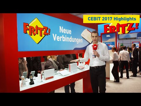 AVM trade fair highlights live from the CeBIT stand