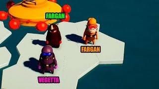FARGAN VS VEGETTA VS WILLY EN GANG BEAST
