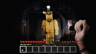 FIVE NIGHTS AT FREDDYS REALISTA : MINECRAFT