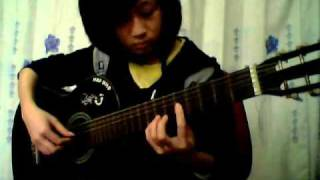 Rain and tears-HacNho (guitar solo)