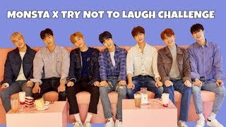 MONSTA X TRY NOT TO LAUGH CHALLENGE