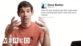 Download Alex Honnold Answers Rock Climbing Questions From Twitter | Tech Support | WIRED Mp3 and Videos