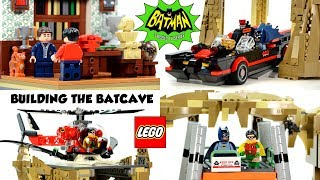 Lego Batman Batcave 1966 Classic TV Series Official LEGO Set Fast Build