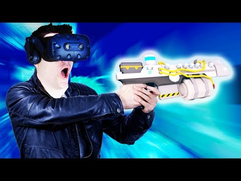 FREEZEING ZOMBIES With the ICE RIFLE! - BAAM SQUAD Gameplay - VR HTC Vive