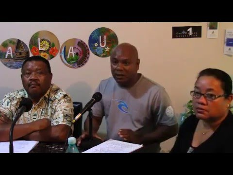 Peleliu Group, Legislators-Elect Talk Show (5/20/16)