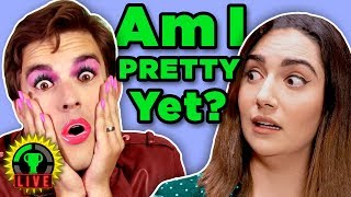 GTLive: Testing CRAZY Beauty Products with Safiya Nygaard!
