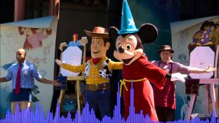 Drawn to the Magic! Source Audio - Disney's California Adventure Streetshow [HQ]