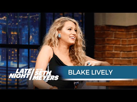 Blake Lively on Her Pregnancy