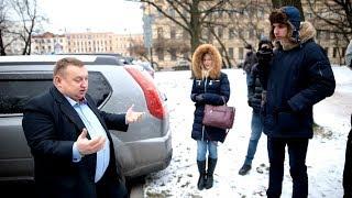 И все - таки - Смольный- резиденция губернатора СПб и какие-то ПДД? Часть 2