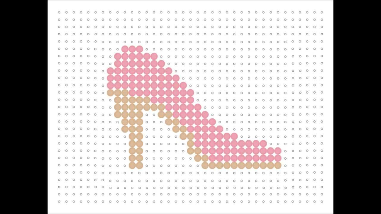 hama bead high heel girly series 10 youtube