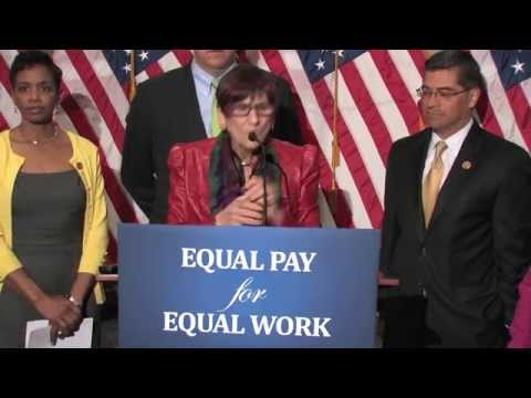 House Democrats Discuss Paycheck Fairness on Equal Pay Day