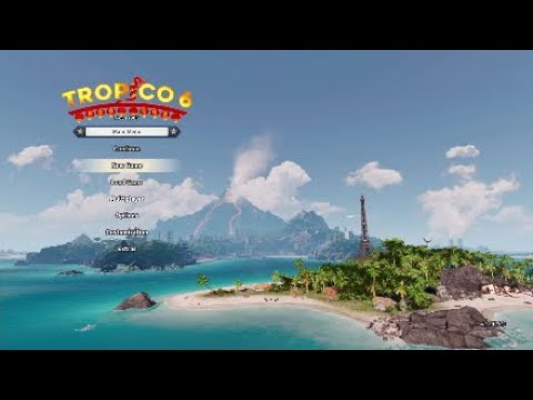 Tropico 6 Sandbox  EP 1; Getting Started  (Generated Map, 3 Dlcs) |