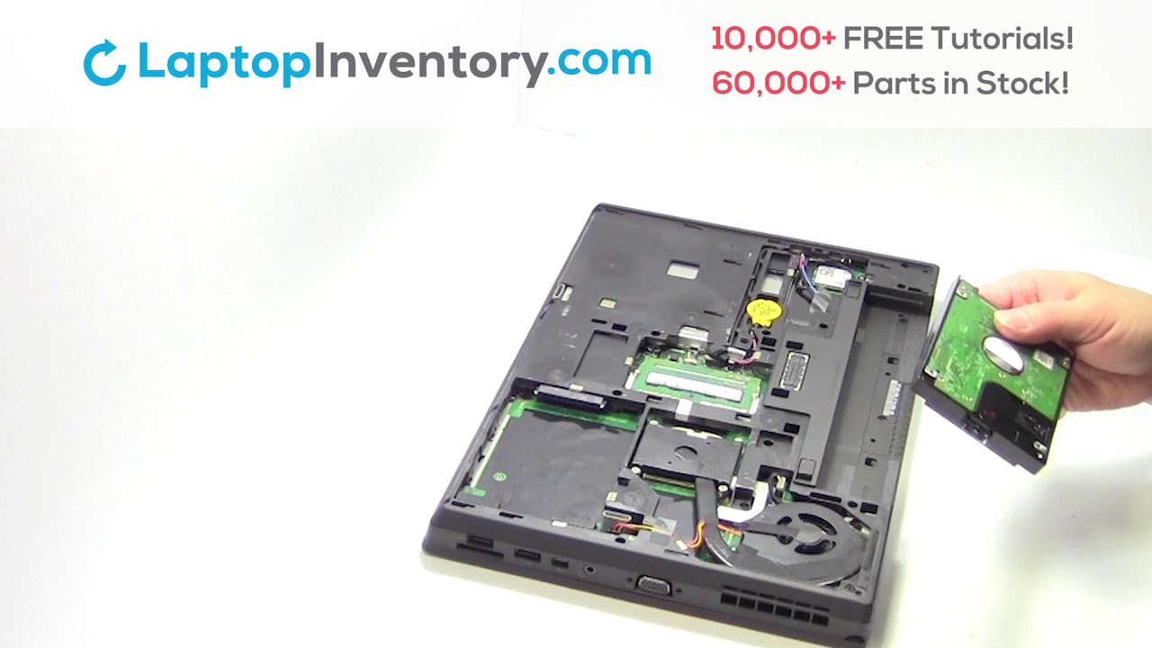 Lenovo ThinkPad T440 Hard Drive Replacement Disassembly Take Apart E440  L440 T460