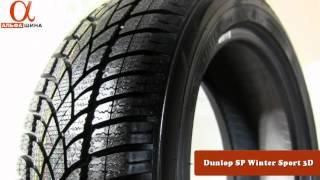 Обзор зимних шин Dunlop SP Winter Sport 3D