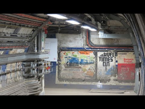 ABANDONED Euston Station Underground - the lost tunnels 2018 last chance to visit before HS2