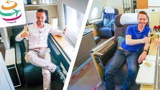 Lufthansa vs. SWISS First Class | GlobalTraveler.TV