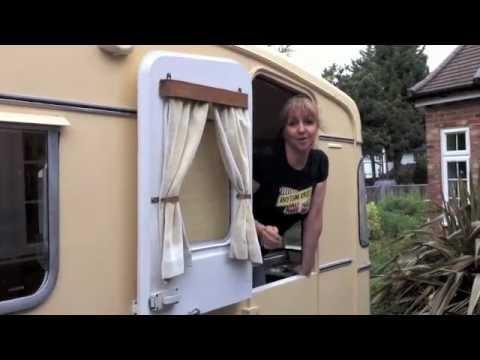 Vintage Caravan Makeover 1