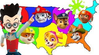 Paw Patrol Throwing A Dart at the Map & Doing Whatever It Lands On