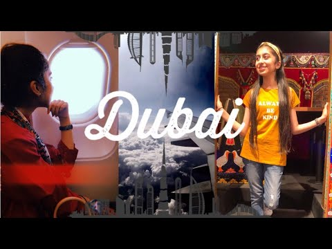 Dubai Vlog Part1 | IMG Worlds of Adventure!