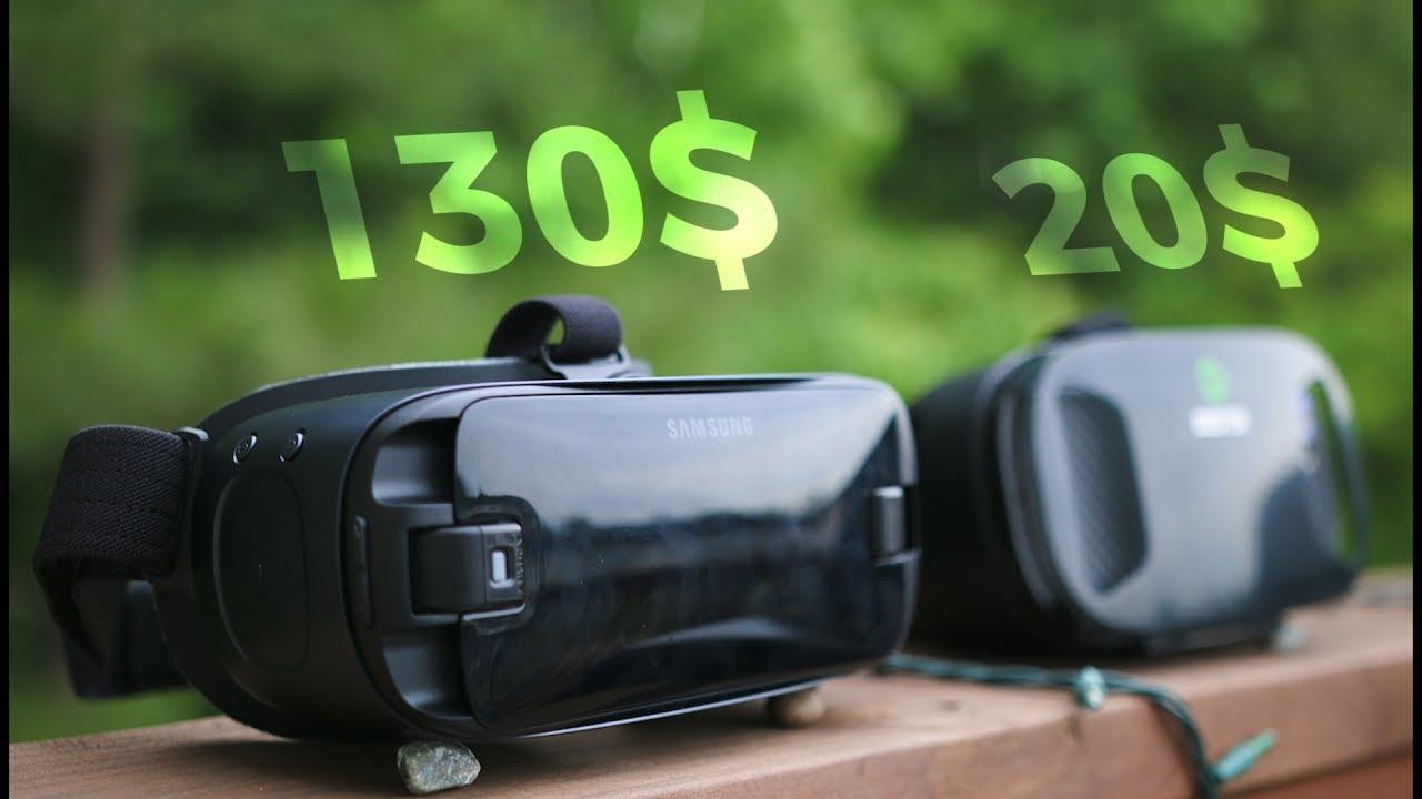 בנפט 20$ VR Headset vs 130$ Samsung Gear VR ! - YouTube RA-17