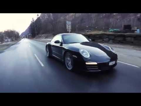 Porsche 911 (997) Carrera 4S PDK 2009   Driving, Sound and Details