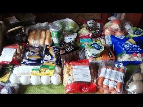 Огромная закупка белорусских продуктов!