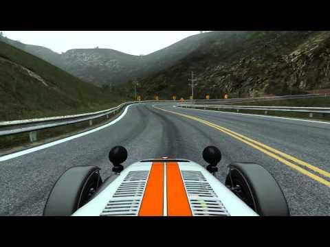 California Dash - Project CARS Pre-Alpha build 179 WIP