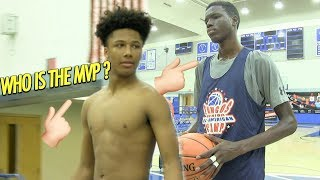 Mikey Williams Schools 8th graders in All American Game! BUT Who is the MVP 🤔