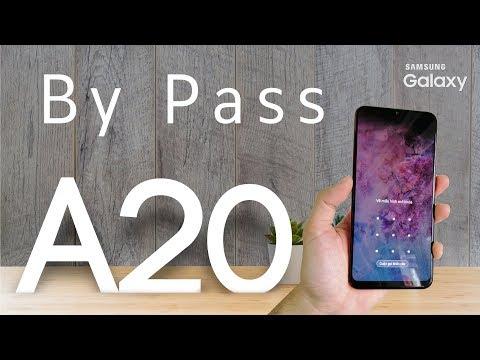 FRP Bypass A20(A205f).FIX New 2019(9.1).Xóa Tài Khoản Google,Mã Hình,Mật Khẩu.rphone