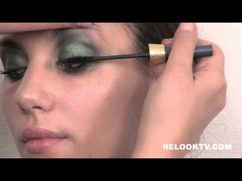 RelookTV.com - Smoky Green Arab Inspired Look