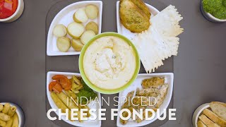 New Recipe: Indian-Spiced Cheese Fondue | Melted Cheese Dish | Easy Meals | Date Night