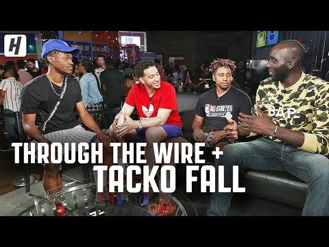 Through The Wire Podcast x Tacko Fall   from Las Vegas