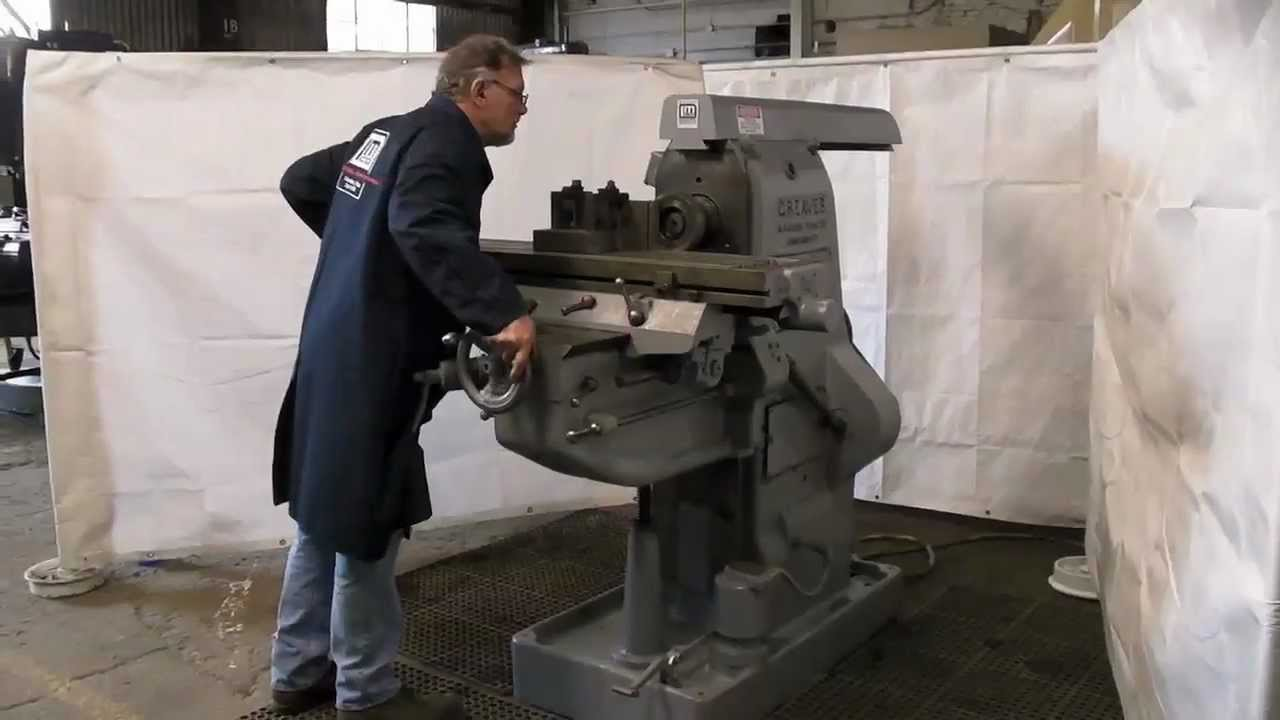 Greaves Horizontal Heavy Duty Mill With Vertical Head Attachment